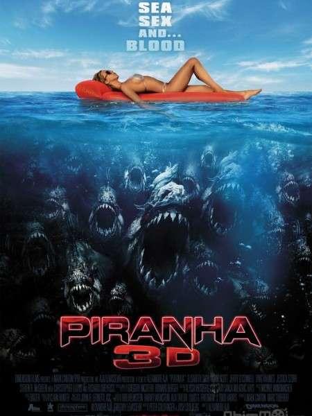 phim Piranha 3D 2010 4 phim hay về cá Piranha hung tợn