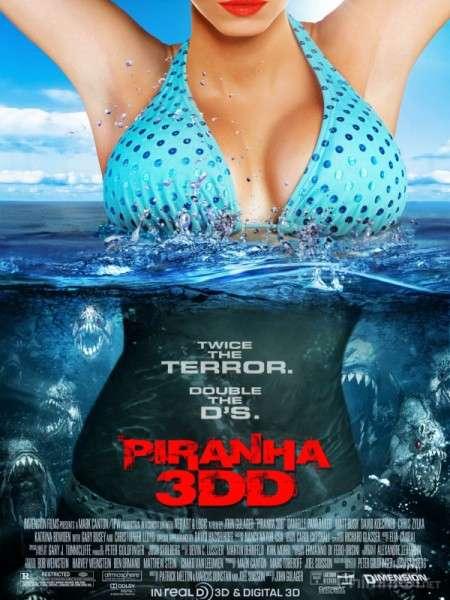 phim Piranha 3DD 2012 4 phim hay về cá Piranha hung tợn