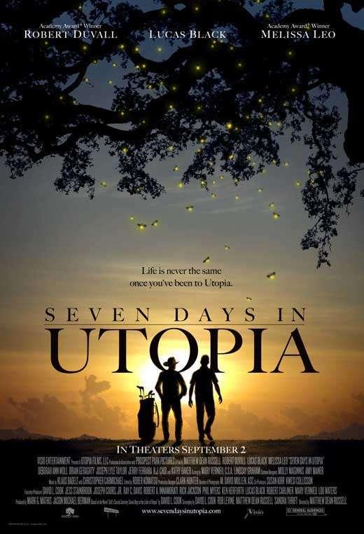 phim Seven Days in Utopia 6 phim hay về Golf hấp dẫn, gây cấn và không kém phần vui nhộn