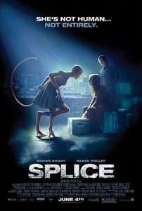 phim Splice 2010 202x300 8 phim hay về lai tạo hấp dẫn người xem