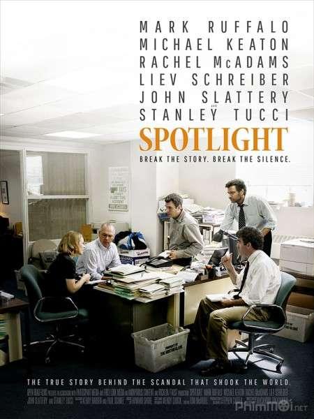 phim Spotlight 2015 7 phim hay về nghề báo xoay quay những sự kiện có thật
