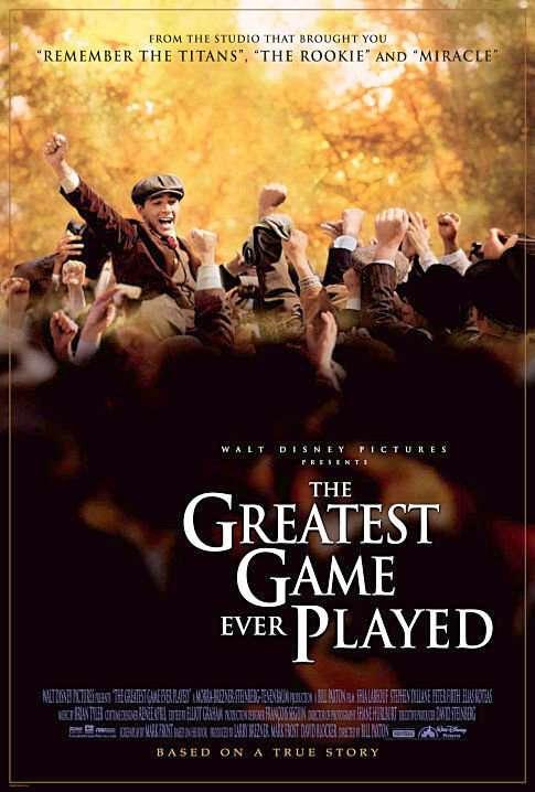 phim The Greatest Game Ever Played 6 phim hay về Golf hấp dẫn, gây cấn và không kém phần vui nhộn