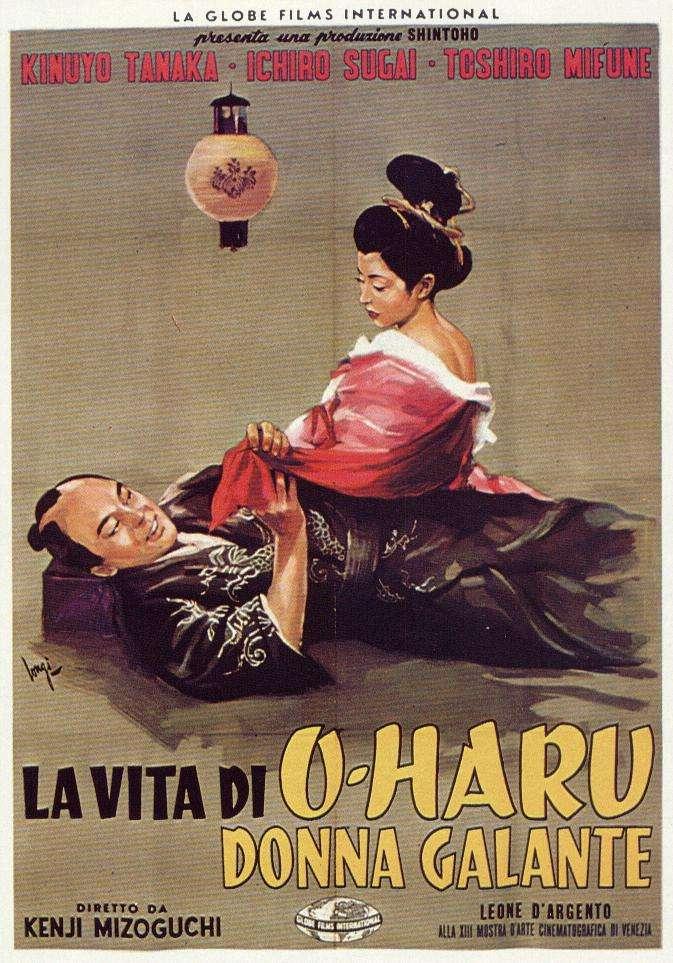 phim The Life of Oharu 1952 7 phim hay về Geisha Nhật Bản truyền tải nhiều tầng cảm xúc