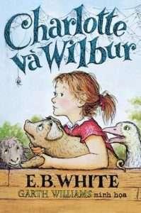 sach Charlotte Va Wilbur 199x300 19 tựa sách văn học thiếu nhi hay được hàng triệu độc giả say mê