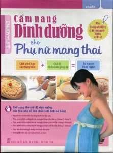 sach cam nang dinh duong cho phu nu mang thai 222x300 16 cuốn sách thai giáo hay đầy bổ ích và thiết thực