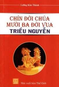 sach chin doi chua muoi ba doi vua 204x300 5 sách hay về 13 vị vua triều Nguyễn giúp hiểu thêm về một vương triều phong kiến