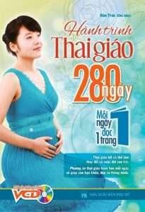 sach hanh trinh thai giao 280 ngay 205x300 16 cuốn sách thai giáo hay đầy bổ ích và thiết thực