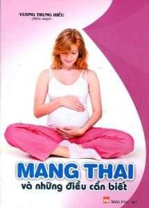 sach mang thai va nhung dieu can biet 215x300 16 cuốn sách thai giáo hay đầy bổ ích và thiết thực