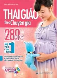 sach thai giao theo chuyen gia 280 ngay moi ngay mot trang 221x300 16 cuốn sách thai giáo hay đầy bổ ích và thiết thực