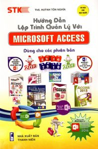 sach huong dan lap trinh quan ly voi Microsoft Access 197x300 10 quyển sách tin học văn phòng hay dễ hiểu, dễ học, dễ ứng dụng