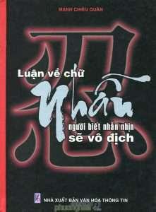 sach luan ve chu nhan 221x300 6 quyển sách hay về chữ nhẫn giúp bạn an yên mà sống