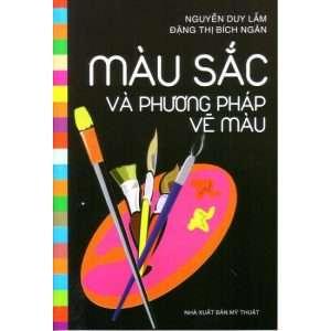 sach mau sac va phuong phap ve mau 300x300 9 cuốn sách mỹ thuật hay bổ ích và cần thiết đối với bất kỳ ai yêu ngành hội họa