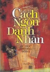 sach cach ngon danh nhan 208x300 11 quyển sách hay về danh ngôn chứa đựng nhiều bài học cuộc sống