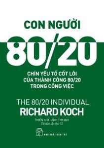 sach con nguoi 80 20 chin yeu to 211x300 9 quyển sách hay về công việc giúp nâng cao hiệu quả và hiệu suất làm việc
