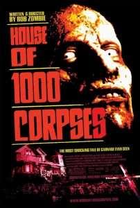 phim House of 1000 Corpses 202x300 10 phim hay về chú hề ma quái khiến cho người xem cảm thấy rùng mình