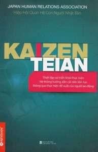sach Kaizen Teian 193x300 4 cuốn sách hay về Kaizen giúp bạn trở nên mạnh mẽ hơn trong thời đại này.