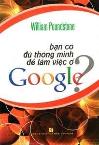 sach ban co du thong minh de lam viec o google 205x300 5 cuốn sách hay về Google tạo nguồn cảm hứng bất tận