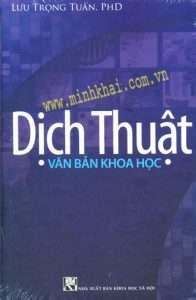 sach dich thuat van ban khoa hoc 196x300 11 cuốn sách hay về dịch thuật phục vụ cho công tác học tập và dịch thuật của bạn