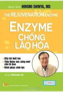 sach enzyme chong lao hoa 207x300 5 cuốn sách hay về Enzyme giúp bạn sống đúng, sống khỏe