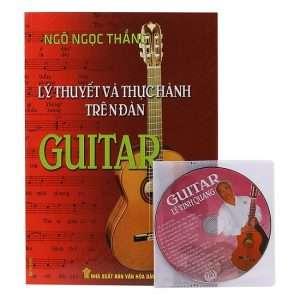 sach ly thuyet va thuc hanh guitar 300x300 9 cuốn sách hay về Guitar rõ ràng, dễ hiểu