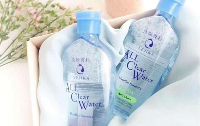 Nước Tẩy Trang Senka A.L.L. Clear Water Micellar Formula Fresh 1