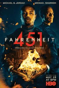phim Fahrenheit 451 2018 202x300 15 phim hay dành cho mọt sách tràn đầy cảm xúc của văn thơ, hội họa, điện ảnh, âm nhạc