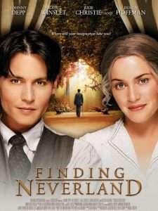 phim Finding neverland 225x300 15 phim hay dành cho mọt sách tràn đầy cảm xúc của văn thơ, hội họa, điện ảnh, âm nhạc