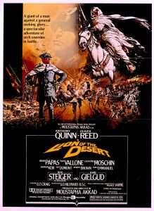 phim Lion of the Desert 1981 219x300 12 phim hay về lịch sử đáng xem trong đời