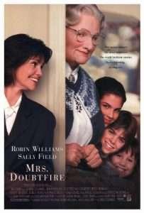 phim Mrs. Doubtfire 203x300 4 phim hay về hóa trang hài hước, thú vị