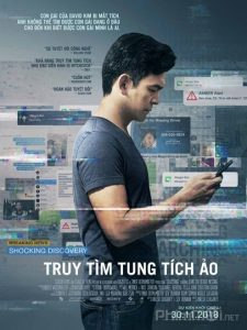 phim Searching 2018 225x300 10 phim hay về Internet vạch trần nhiều mặt tối của thế giới ảo