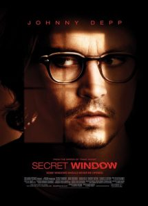 phim Secret Window 2004 215x300 15 phim hay dành cho mọt sách tràn đầy cảm xúc của văn thơ, hội họa, điện ảnh, âm nhạc