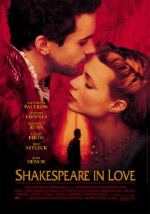 phim Shakespeare in Love 1998 211x300 15 phim hay dành cho mọt sách tràn đầy cảm xúc của văn thơ, hội họa, điện ảnh, âm nhạc