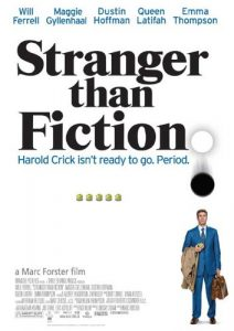 phim Stranger Than Fiction 212x300 15 phim hay dành cho mọt sách tràn đầy cảm xúc của văn thơ, hội họa, điện ảnh, âm nhạc