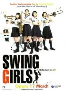 phim Swing Girls 212x300 9 phim hay về Jazz làm say lòng người xem
