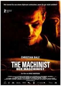 phim The Machinist 2004 212x300 19 phim hay về tâm lý học mở rộng tâm trí người xem
