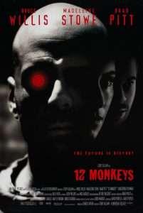 phim Twelve Monkeys 1995 201x300 10 phim hay về hiệu ứng cánh bướm nhấn mạnh sự quan trọng hành động, lời nói và tư tưởng của mỗi người