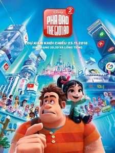 phim Wreck It Ralph 2 Ralph Breaks the Internet 2018 225x300 10 phim hay về Internet vạch trần nhiều mặt tối của thế giới ảo