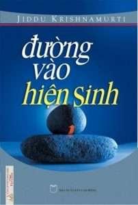 sach duong vao hien sinh 202x300 Những quyển sách hay nhất của Jiddu Krishnamurti