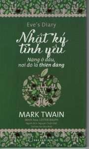 sach nhat ky tinh yeu mark twain 180x300 Những quyển sách hay nhất của Mark Twain
