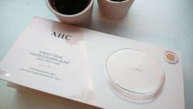 Photo of Đánh giá phấn nền trang điểm AHC Perfect Dual Cover Cushion Glam