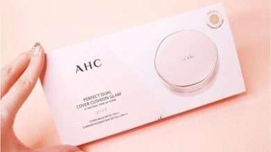 Photo of Đánh giá phấn nền trang điểm AHC Perfect Dual Cover Cushion Glam Pink