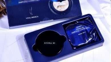 Photo of Đánh giá phấn nền trang điểm AHC Premium Hydra B5 Ampoule Cover Pact